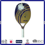 Beach Tennis Racket with Carbon and EVA Material Can Be Customized