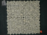 Star White Marble Mosaic Tile for Bathroom Wall and Floor