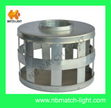 Square Hole Steel Sink Strainer Tin Can