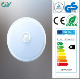 CE RoHS Approved 3000k 9W 0.9PF Sensor LED Ceiling Light