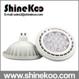 Die-Casting Aluminium 15W Gx53 GU10 SMD LED AR111 Lights