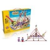 6732012-Amusement Park Pirate Ship Style Electric Building Block