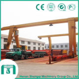 Mh Single Girder Gantry Crane with Electric Hoist