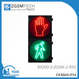 300mm Red Stop Green Pedestrian LED Traffic Light Height
