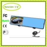 Rearview Mirror Car DVR with Two Camera