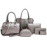 Latest Fashion Designer PU Leather Handbag Sets for Lady