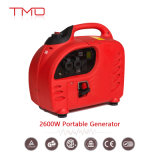 2600W Super Quiet Light Weight Inverter 120/240V Fuel Efficient Generator with Monitor LCD
