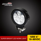 "4"" 18W CREE LED ATV Moto Work Light"