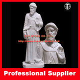 St. Francis Marble Sculpture Marble Statue Stone Carving