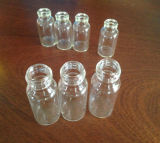 Clear Screwed Mini Glass Vial for Medical Packing