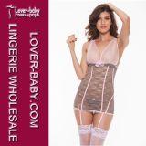 Sheer Babydoll Lace Sexy Underwear (L2215-3)