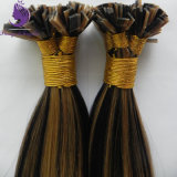 #1b/27 Piano Color Virgin Remy Flat Tip Hair Extension