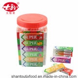 2.5g Per Pieces Square Bottle Chewing Gum