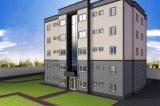Five Stories Sandwich Panel Steel Structure Apartment