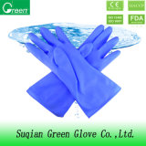 Blue PVC Industrial Household Glove