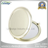 Gold Double 70mm Compact Mirror