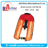 Multi-Colored PVC Outer Cover Inflatable Life Vest
