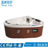 Acrylic Irregular Threesider SPA Whirlpool Massage Big Tub (M-3358)