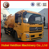 4X2 Sewage Suction Truck 8cbm 10cbm High Pressure Cleaning Truck