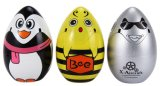 1516057-2.4GHz Cute Flying Egg 6 Axis Gyro 4 Channel Quadcopter 3D Stunt Aircraft with Eggshell