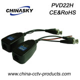 HD-Cvi/Tvi/Ahd BNC Passive Power Balun for CCTV (PVD22H)