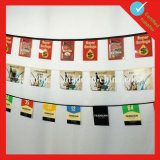 Promotional Pennant Bunting Flags with String