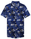 Men′s Beach Wear Printed Aloha Hawaiian Shirt