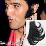 Elvis Presley Sideburns 100% Human Hair Full Hand Tied Fake Mustache Beard for Cosplay/Drama/Party/Film/Costume