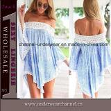 Sexy Lady Irregular Beach Casual Summer Dress (TONY6060)