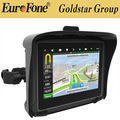 "4.3"" 100% Waterproof Motorcycle GPS Navigator with Bluetooth Function"