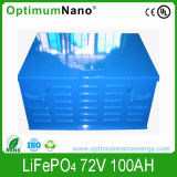 Electric Car Battery LiFePO4 72V 100ah with BMS