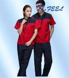 Short Sleeve Men Summer Industrial Factory Cotton Workwear