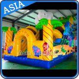 Giant Inflatable Elephant Dry Slide for Children Games