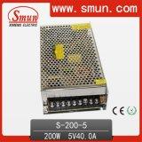 200W Single Output Switching Power Supply 5V40A