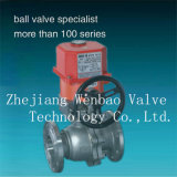 Flanged Stainless Steel Electric Actuated Ball Valve
