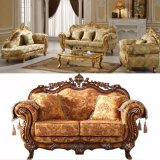 Classic Fabric Sofa with Wooden Sofa Frame (D929D)