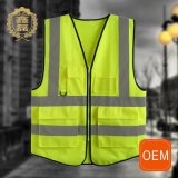 OEM Security Guard Hi Vis Vest with Pockets, Construction Safety Vest