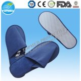 Hotel Consumables Closed Toe Slipper Disposable PP+EVA Hotel Slippers
