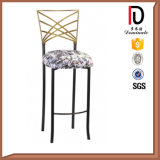 Wooden Look Hotel Banquet High Bar Chair (BR-B001)