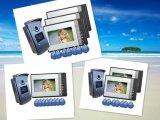 """Popular 4 Wire 7"""" Video Door Phone Doorbell with Intercom System"""