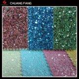 Durable Glitter PU Decorative Leather