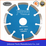 115mm Laser Diamond Concrete Saw Blades for Fast Cutting Cured Concrete