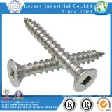 Flat Head Square Drive Deck Screw Stainless Steel