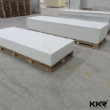 12mm Glacier White Artificial Stone Solid Surface Slab
