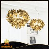 Good Quality Acrylic Iron Golden Pendant Lamp (KA9188S/gold)
