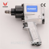Twin Hammer Industrial Pneumatic Impact Wrench with 1/2 Inch Square Driver