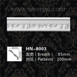 High Quality Polyurethane Ceiling Decro Carving Cornice Mouldings Hn-8003
