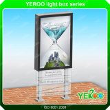 Outdoor Column Rotating Light Box Sign