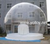 Portable Clear Inflatable Christmas Halloween Advertising Performance Globe