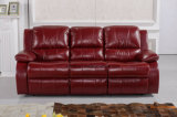 Modern Living Room Leather Function Massage Recliner Sofa (UL-NS519)